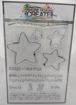 Nesting Stars: IDC0079 -A5 stamp set
