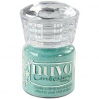 Nuvo Embossing Powder - Cool Jade