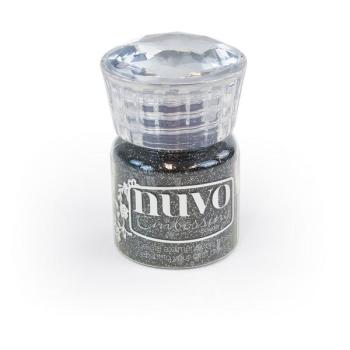 Nuvo Embossing Powder - Glitter Noir