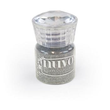 Nuvo Embossing Powder - Silver Moonlight