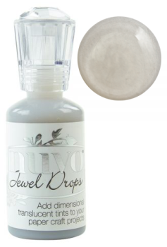 nuvo Jewel Drops - Grey Mist
