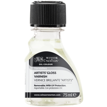 Artist's Gloss Varnish- winsor and Newton