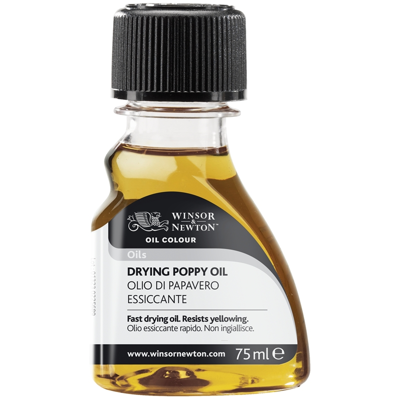 Drying Poppy Oil- winsor and Newton