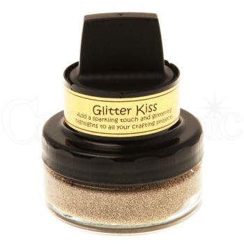 Cosmic Shimmer Glitter Kiss- Golden Sand Kiss