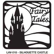 Celtic Dreams Inspirational Dies - Lav-018-Silhoutte Castle