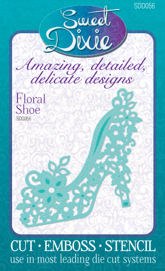Sweet Dixie Dies - Floral Shoe
