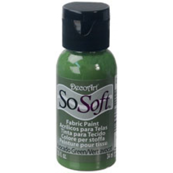 DecoArt SoSoft Fabric Paint - Avocado Green