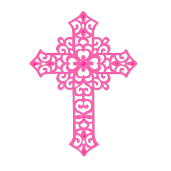 Sweet Dixie Die - Large Filigree Cross