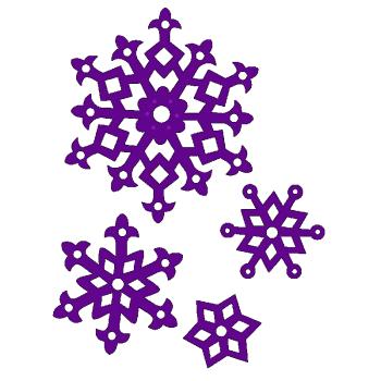 Sweet Dixie Die - 4 Layering Snowflakes