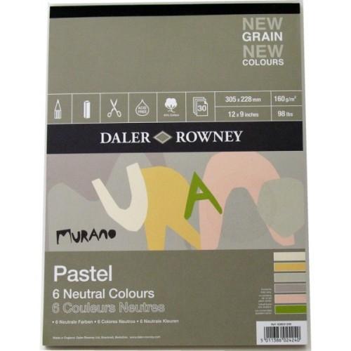 Daler Rowney Murano Pastel Pad - Neutral