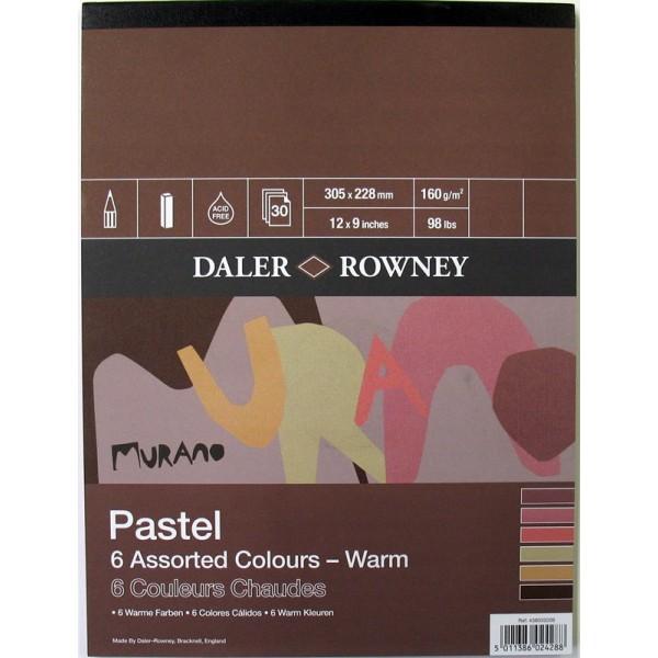 Daler Rowney Murano Pastel Pad - Warm