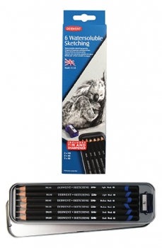 Derwent Watersoluble Sketching Pencils