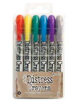 distress Crayons - Set 4