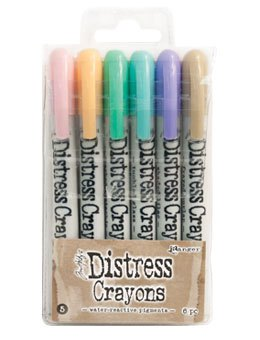 Distress Crayons - Set 5
