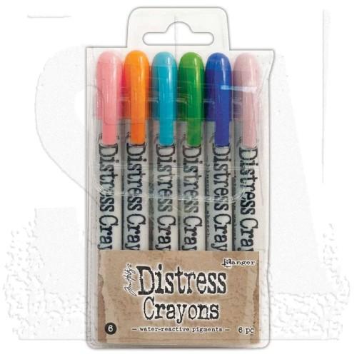Distress Crayons - Set 6