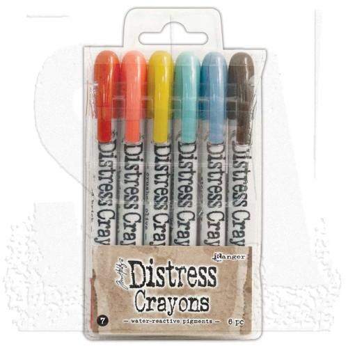 Distress Crayons - Set 7