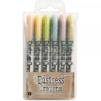Distress crayons - set 8