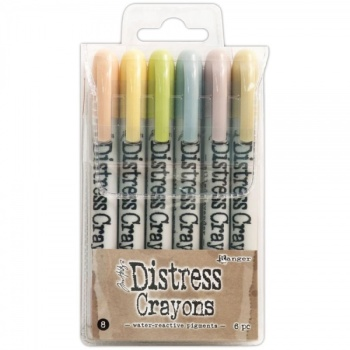 Distress crayons - set 8