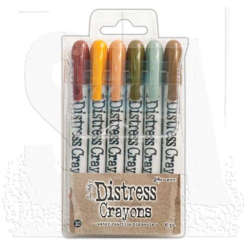 Distress Crayons - set 10