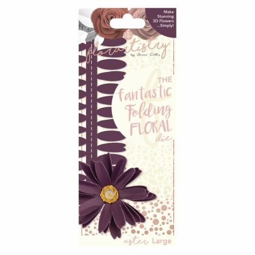 Florartistry Folding Floral Die - Aster