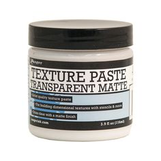 Ranger Texture Paste Transparent Matte 1fl oz