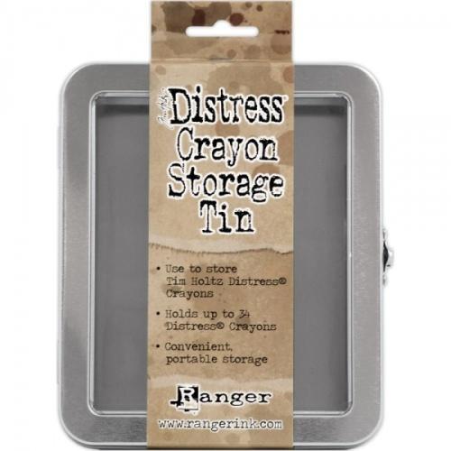 Ranger Distress Crayon Storage Tin