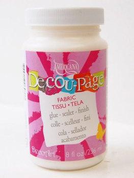 DecoArt Deco-Page - Fabric