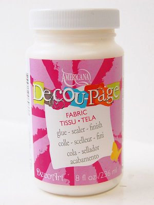 Americana DecoArt Deco-Page - Fabric
