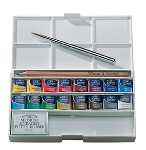 Winsor & Newton - Cotman Water Colours - Deluxe Sketchers Pocket Box