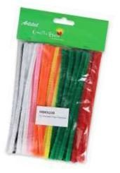 Pipe cleaners (72 pack) - Assorted colours (150 mm)