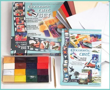 Encaustic Art Set