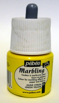 Pebeo Marbling Ink - Lemon Yellow