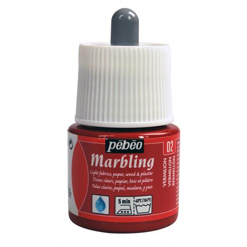 Pebeo Marbling Ink - Vermilion