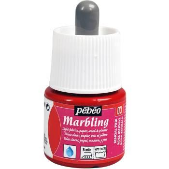 Pebeo Marbling Ink - Bengal Pink