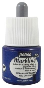 Pebeo Marbling Ink - Ultramarine Blue