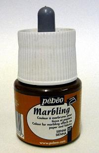 Pebeo Marbling Ink - Sienna