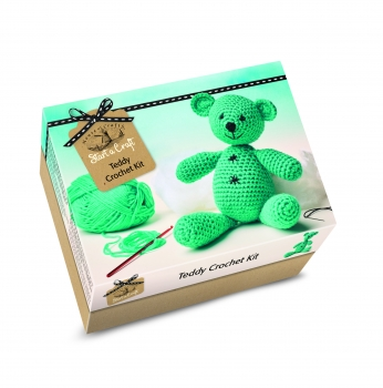Teddy Crochet Kit