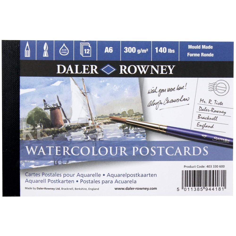 Daler Rowney Watercolour Postcards