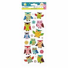Fun Stickers - Glitter Owls