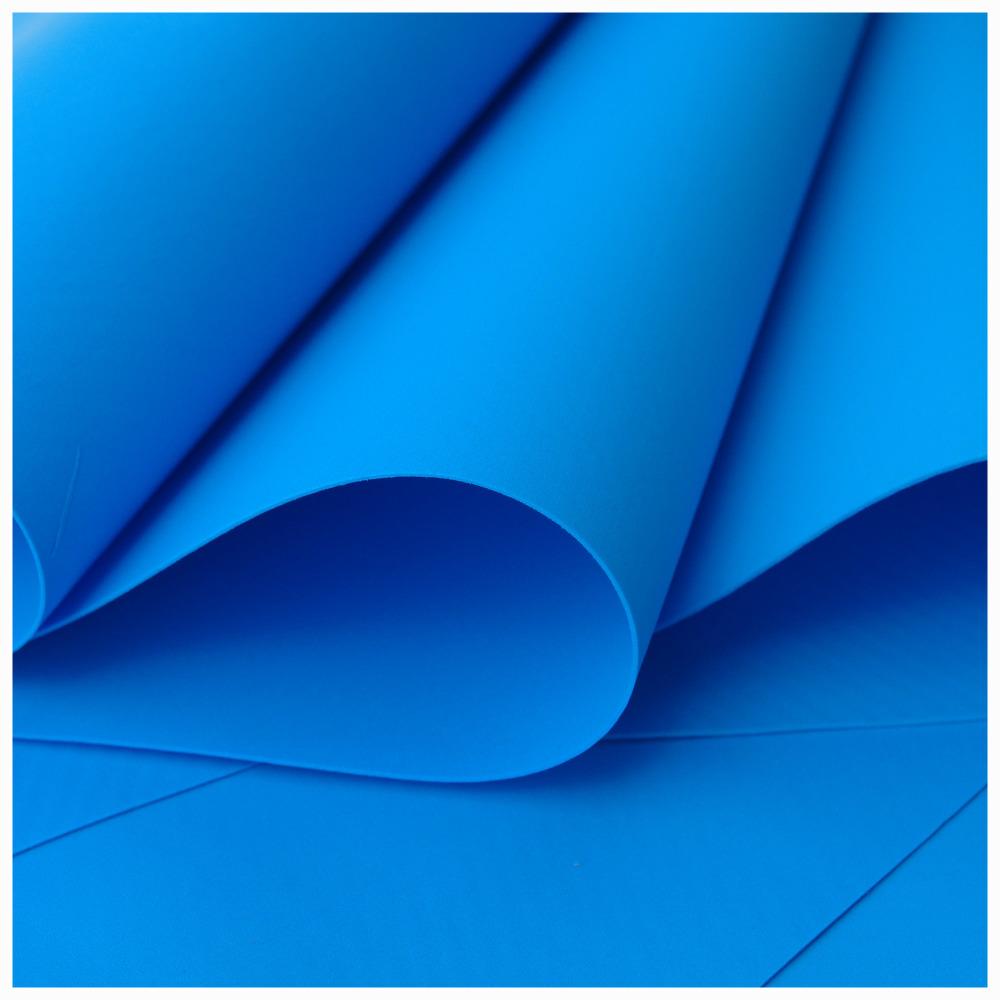 Blue Foamiran - Flower making foam (Large sheet 60 x 70cm)