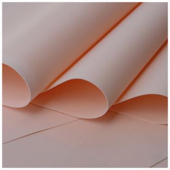 Peach Foamiran - Flower making foam (Large sheet 60 x 70cm)