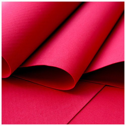 Red Foamiran - Flower making foam (Large sheet 60 x 70cm)