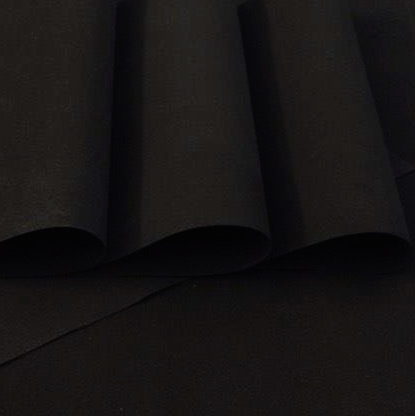 Black Foamiran - Flower making foam (Large sheet 60 x 70cm)