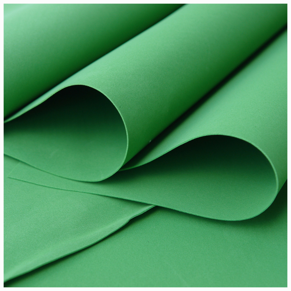 Deep Green Foamiran - Flower making foam (Large sheet 60 x 70cm)