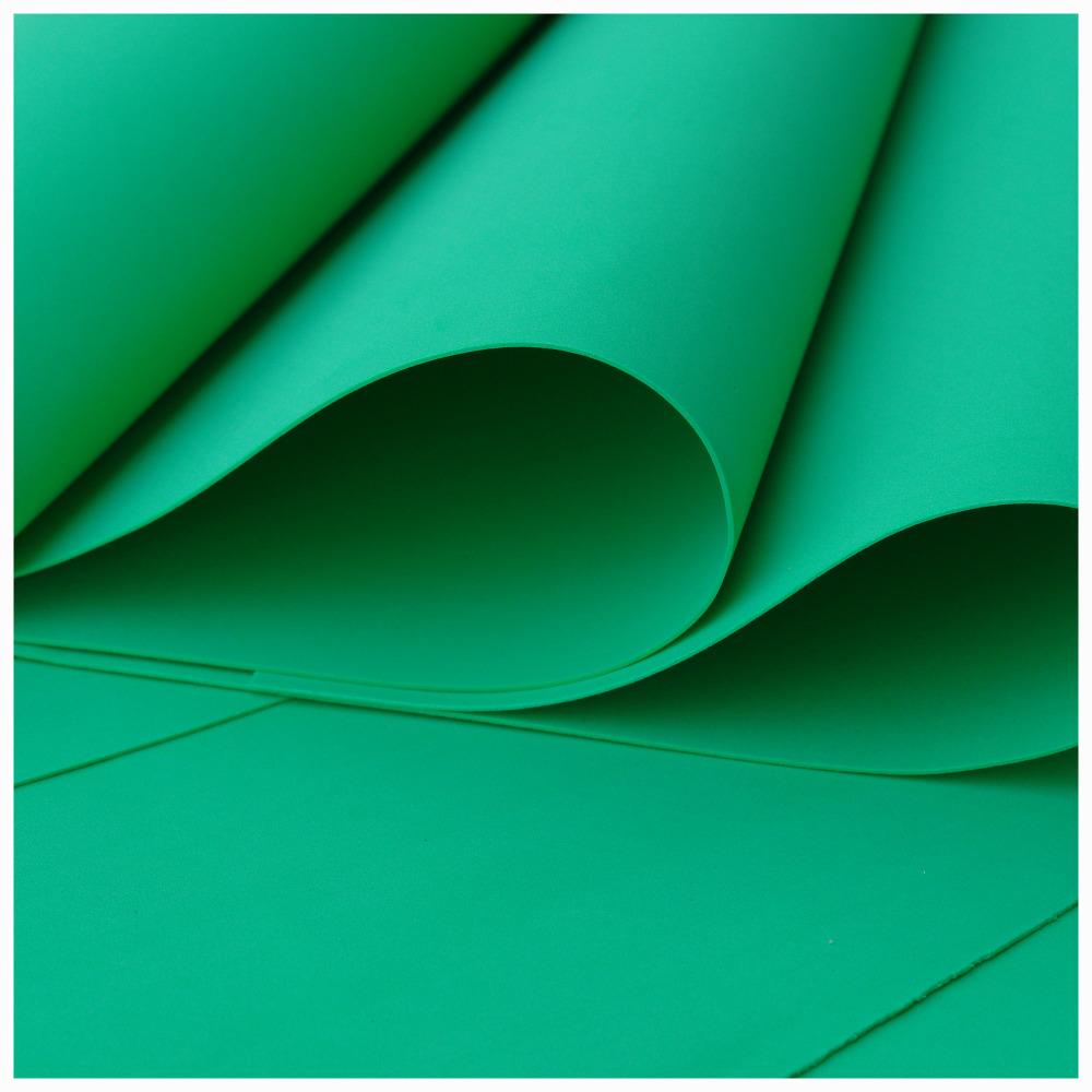 Green Foamiran - Flower making foam (Large sheet 60 x 70cm)