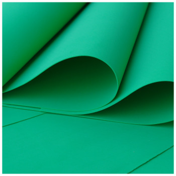 Green Foamiran - Flower making foam (Large sheet 60 x 70cm)