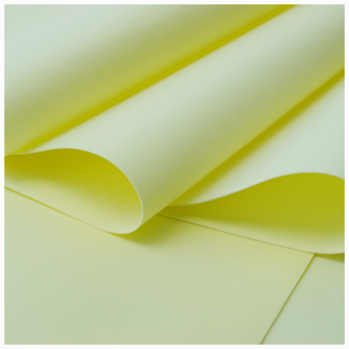 Light Yellow Foamiran - Flower making foam (Large sheet 60 x 70cm)
