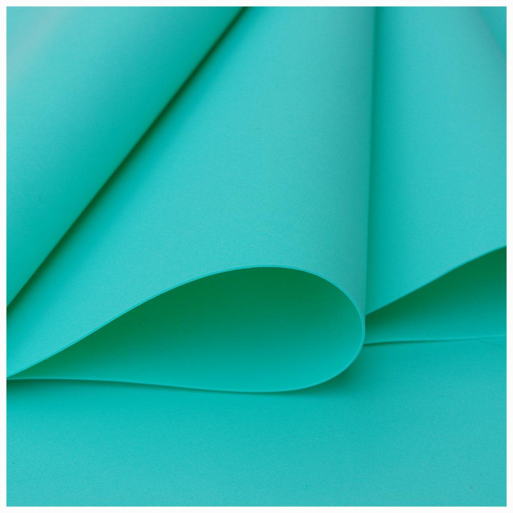 Mint Foamiran - Flower making foam (Large sheet 60 x 70cm)