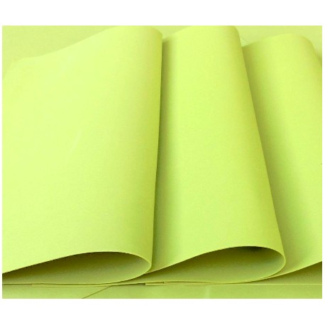 Green Apple Foamiran - Flower making foam (Large sheet 60 x 70cm)