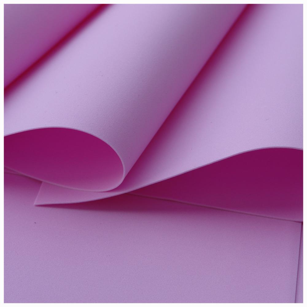 Pink Foamiran - Flower making foam (Large sheet 60 x 70cm)